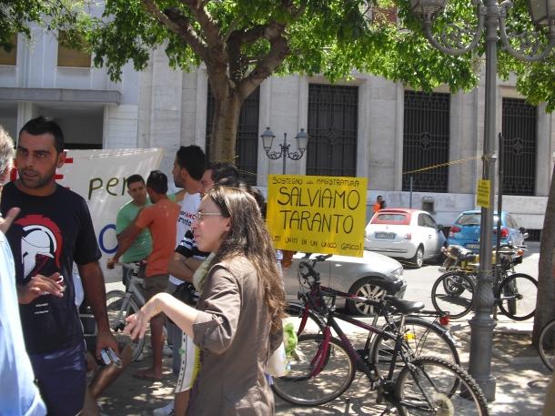 Diverse associazoni dell'alleanza civica ambientalista solidali con la Magistratura
