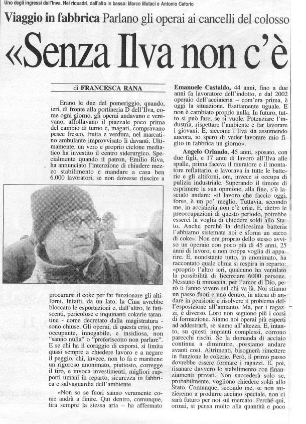 18 febbraio 2004 - Nuovo Quotidiano di Puglia