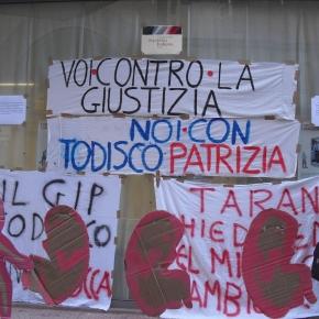 """Si lancia l'idea """"Incateniamoci all'Ilva"""" al sit-in contro l'incostituzionale """"Salva Ilva/Ammazza Taranto"""" a sostegno dellaMagistratura"""