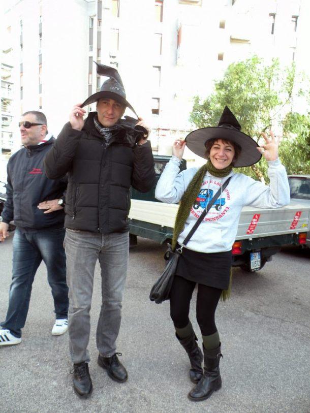 Cataldo Ranieri ed Ezia Mitolo, Befane e Befani con il Cappello in Apecar