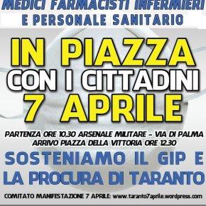 #ta7aprile, poi #Roma9aprile: Manifestazioni e Sit-in a Taranto e Roma in hashtag, contro leggi Salva #Ilva, aspettando la CorteCostituzionale