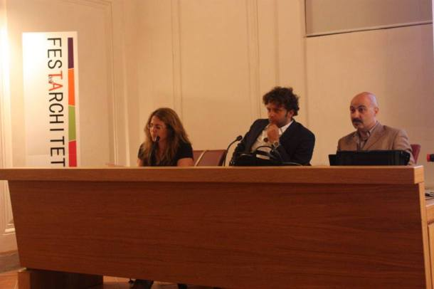 Da sinistra, a parte me, Ubaldo Occhinegro e Giuseppe Fallacara. Foto di Massimo Prontera.