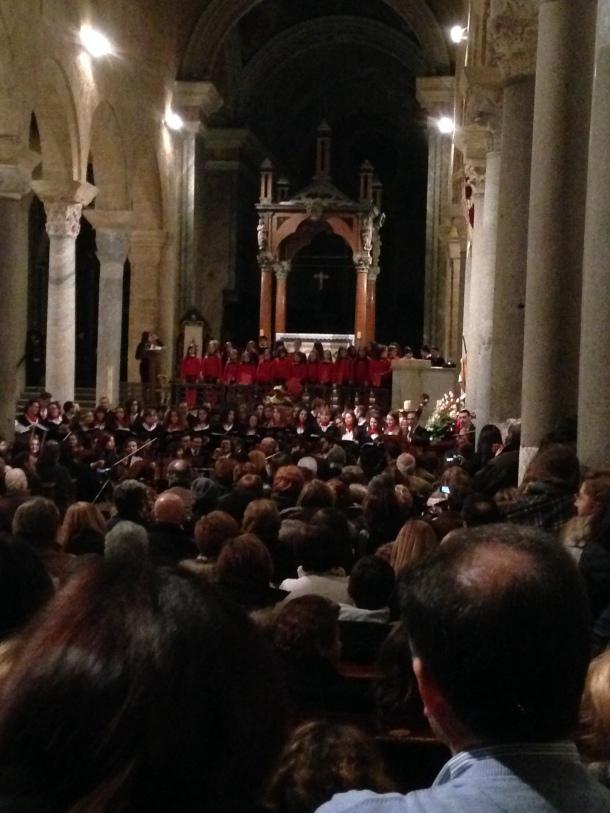 Coro di Voci Bianche al Concerto dell'Orchestra e Coro del Paisiello di Taranto