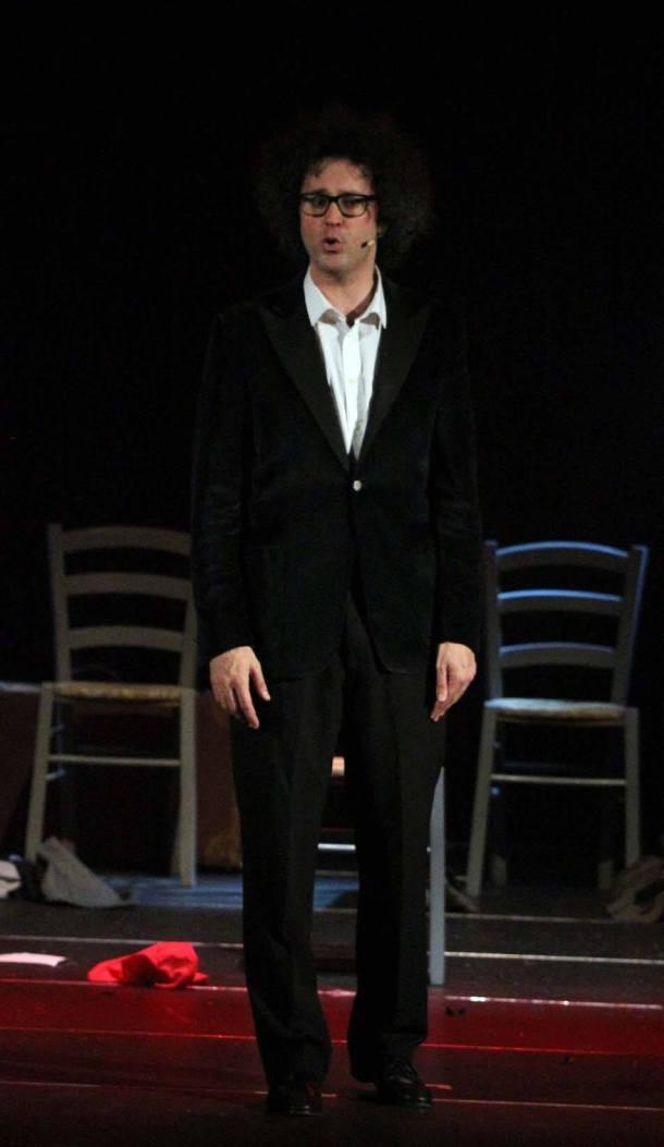 Simone Cristicchi al TaTA'. Foto Carmine La Fratta per gli Amici della Musica