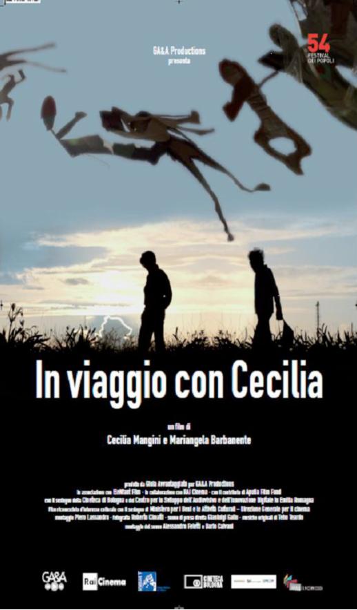 Locandina. Fonte: http://cinemabellarmino.com/eventi-2/viaggio-cecilia.php