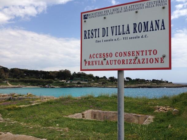 I salti mortali per la manutenzione del verde sui resti romani