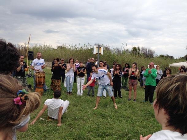 Tutti a provare la capoeira