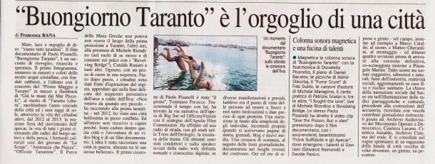 Nuovo Quotidiano di Puglia del 1° Maggio 2014