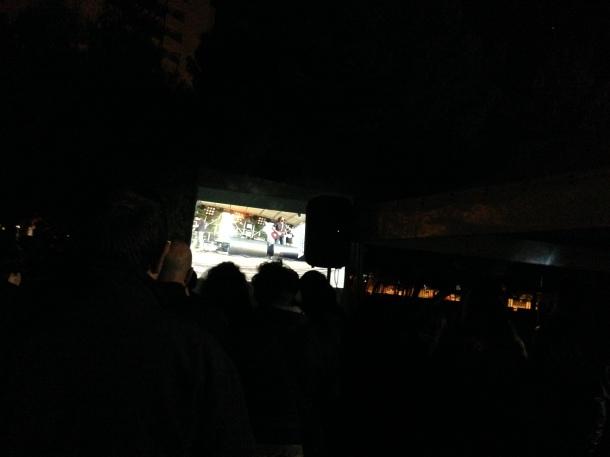 Il finale del film documentario, con Michele Riondino, nel Primo Maggio del 2013