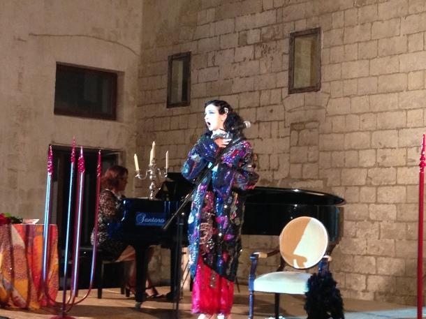 "Tiziana Spagnoletta in ""Anna Fougez"""